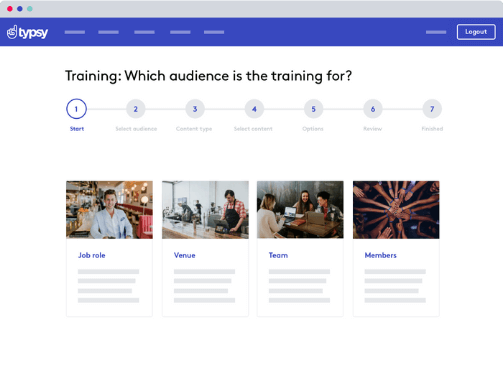 A hospitality training platform that's made to be simple